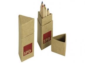 SPD Buntstiftboxen, 10 Stück (Art.-Nr. 1250)