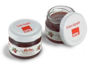 SPD Mini-Marmeladen-Gläschen, 60 Stück (Art.-Nr. 1309)