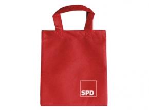 SPD Mini-Vliestasche, 22 x 26 cm, 10 Stück (Art.-Nr. 1326)