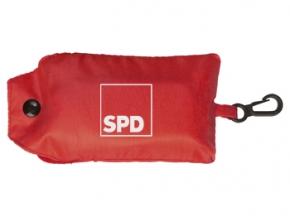 SPD Falttasche, mit Kunststoff-Karabinerhaken, 10 Stück (Art.-Nr. 1332)