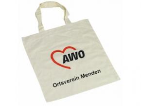 AWO Baumwolltasche natur Sonderdruck, 250 Stück = 1 VPE (Staffelpreise beachten) (Art.-Nr. 2022SD)