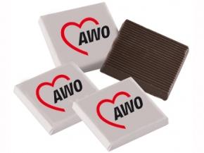 AWO Schokoladentäfelchen, 2,5 kg (Art.-Nr. 2027)