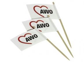 AWO Minifähnchen/Partypicker, 100 Stück (Art.-Nr. 2067)