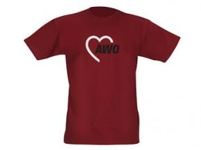 AWO T-Shirt 180 g-Qualität, rot, Gr. XXXL, 1 Stück (Art.-Nr. 2189-XXXL)