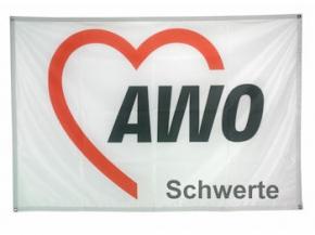 AWO Banner ECOFLAG mit Sonderdruck (Art.-Nr. 2266SD)
