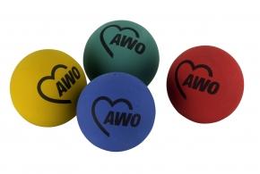 AWO Gummiball / Springball, 10 Stück (Art.-Nr. 2297)