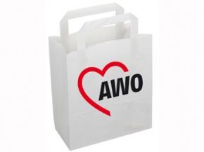 AWO Papiertragetasche, 50 Stück = 1 VPE (Staffelpreise beachten) (Art.-Nr. 2303)