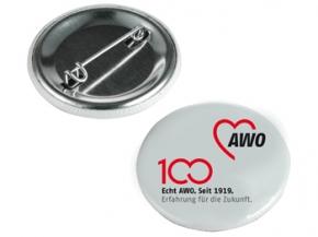AWO 100-Jahre-Button, 10 Stück (Art.-Nr. 62096)
