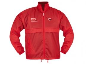 AWO 100-Jahre-Nylon-Jacke, rot, 1 Stück (verschiedene Größen lieferbar) (Art.-Nr. 62213)