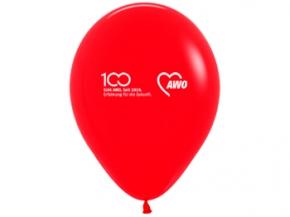 AWO 100-Jahre-Luftballons, rot, 100 Stück (Art.-Nr. 62386)