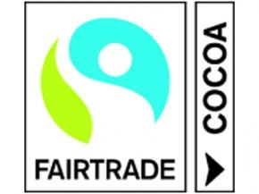 Schokoladenherz mit Etikett Verkehrszeichen 60, 100 Stück = 1 VPE (Art.-Nr. 3100-60)